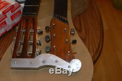 1917 Sears Roebuck Harmony made Supertone Double Neck Acoustic Harp Guitar