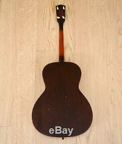 1930s Kalamazoo KTG-14 Vintage Pre-War Tenor Acoustic Guitar, Gibson-Made withohc