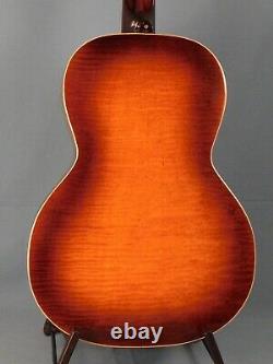 1933 Kay Kraft Made Oahu Model 68b Jumbo Acoustic Guitar. 12 Fret Neck