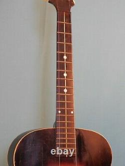 1939 Gibson Made Cromwell Archtop Guitar Project