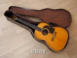 1948 National 1160 Vintage Acoustic Guitar Valco X-Braced & Gibson-Made, LG-3