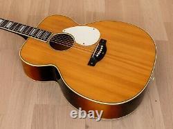 1950s Kay K27 Jumbo X-Braced Vintage Acoustic Guitar, USA-Made & Crack-Free