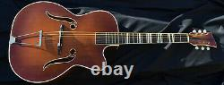 1950s Melodija Archtop hollowbody Jazz Acoustic Guitar made in Slovenia
