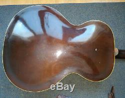 1951 Vintage Epiphone ZENITH Sunburst Archtop Acoustic Guitar Made USA CarvedTop