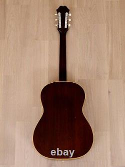 1963 Epiphone FT-45N Cortez Vintage Gibson-made X-Braced Acoustic Guitar, B-25N