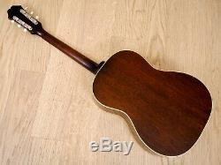 1966 Epiphone FT-45N Cortez Vintage X Braced Acoustic Guitar Gibson-Made, B-25N