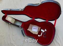 1970 Custom Made Manuel Contreras Acoustic Guitar Signed With Custom Case & More