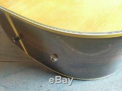 1970's Yasuma W-400 Acoustic Western Guitar (Made in Japan)