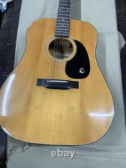 1970s EPIPHONE FT-140 Blue Label Norlin Guitar Made in JAPAN withCase