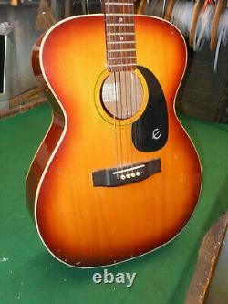 1970s Epiphone FT-180SB Cabellero acoustic guitar Blue Label Japan Made