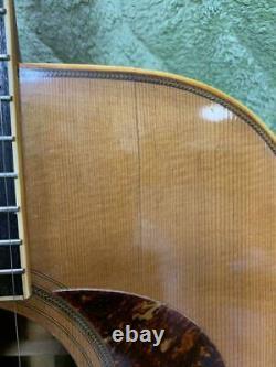1975 Ryoji Matsuoka Lucia G-500 Gallagher Model Acoustic Guitar Made in Japan H