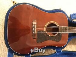 1987 Guild D-25M Acoustic Guitar Westerly Made Mint Condition