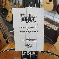 1996 Taylor 712 Grand Auditorium Acoustic Guitar and Hard Case Made in USA