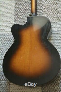Alte Gitarre Guitar Höfner Hofner Archtop Made in Germany