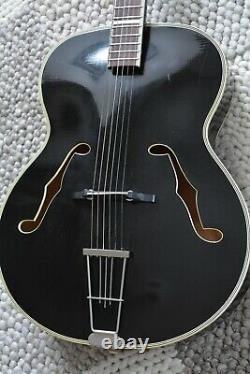 Alte Gitarre Guitar Hoyer von 1958 Jazz Archtop Made in Germany