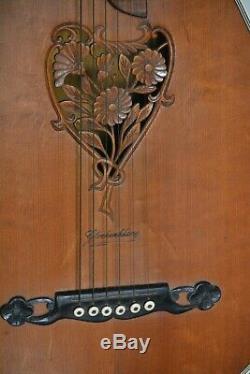 Alte Gitarre Guitar Laute 1920-1930 Made in Germany