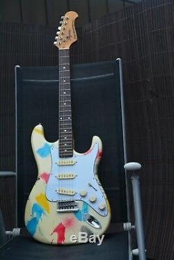 Alte Gitarre Guitar Made in Korea