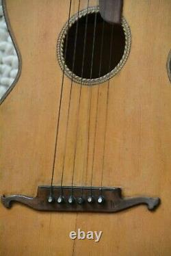 Alte Gitarre Guitar Parlor Made in Germany
