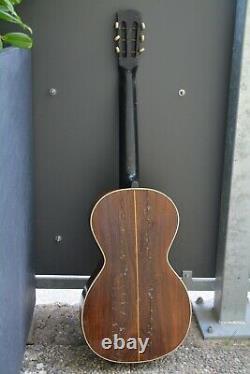 Alte Gitarre Guitar Parlor von 1935 Made in Germany