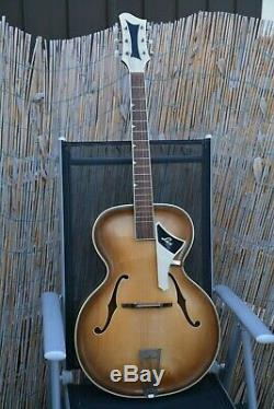 Alte Gitarre Guitar Schlaggitarre Archtop Made in Germany