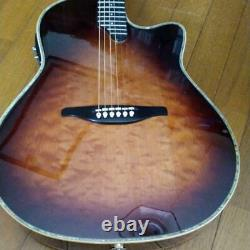Alvarez Yairi YD-88 Electric Acoustic Guitar Sunburst Made in Japan withHardcase