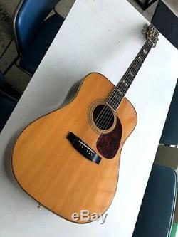 Aria KW-3 Natural Acoustic Guitar Made in Japan Serial No. 84120440