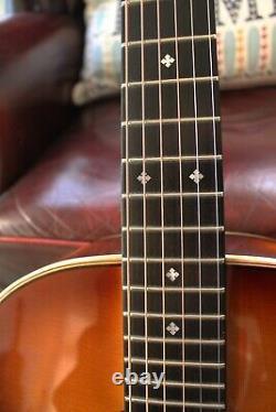 Avalon D340A Hand Made N Ireland Guitar & Hiscox Case & JJB Prestige 430 pickup