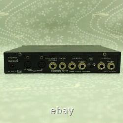 BOSS PRO SE-70 Super Effects Processor With AC Adapter Made in Japan Effect Unit