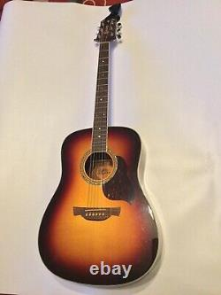 Crafter Acoustic Guitar D8 TS Sunburst Model Made In Korea