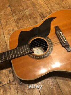 Eko Ranger 6 Acoustic Guitar, Made In Italy, Fantastic Condition, 1970s