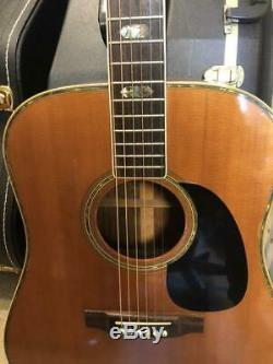 Elite By Takamine Japan Acoustic Guitar Made In `1974 Vintage Model Rare F/s