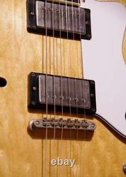 Epiphone Riviera Semi-Acoustic Guitar Natural Orange Label Made in Japan