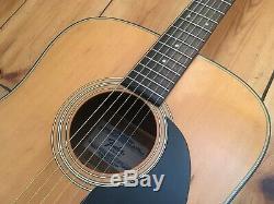 Fender F-35 Acoustic Guitar Made in Japan 1980s Roadworn