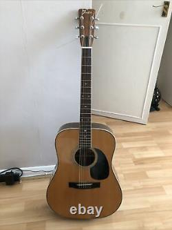 Fender F-65 Dreadnought Acoustic Guitar. Made In Japan. Mij. 1979