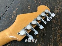 Fender Stratocaster Electric Guitar With Kahler System Made In Japan