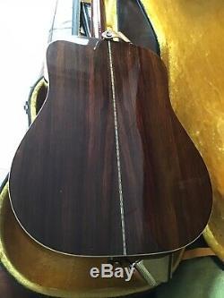 Fender Vintage Accoustic Guitar F65. (Made In Japan. 1978)