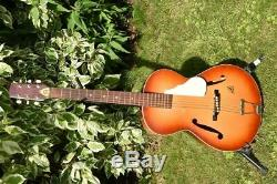 Framus Hobby 5/50 Archtop Vintage guitar Gitarre Made in Germany with stamped me