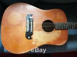 Framus TEXAN 6 string gitarre guitar made in Germany 1969