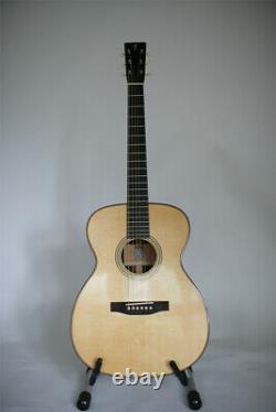 Franklin Steel string OM acoustic Hand Made Acoustic guitar