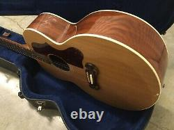 Gibson SJ-100 2006 Natural jumbo acoustic- electric guitar made in USA With OHSC
