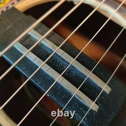 Givson Venus Rose Steel String Electro Acoustic Guitar Made In India With Pickup