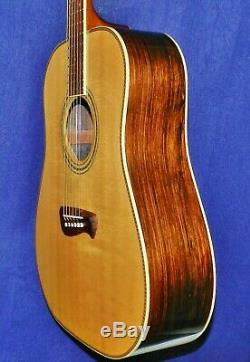 Gorgeous 2002 TACOMA DMZ-20 BRAZILIAN ROSEWOOD, Made in USA, VGdCond. OHSC