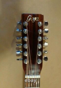 Goya 12 String Acoustic Guitar made by C. F. Martin Co. Model G415-N Right Hand