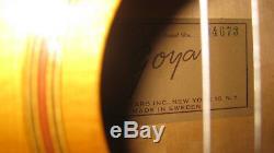 Goya G-10 Classical Guitar Vintage 1962 with Original Case Made in Sweden