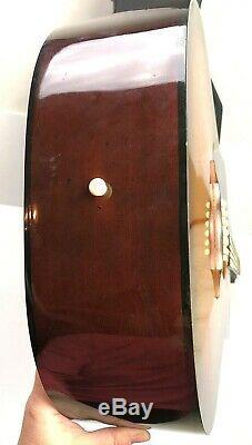 Guild Acoustic Guitar D35SB Made in USA Left Handed Musical Instrument Hard Case