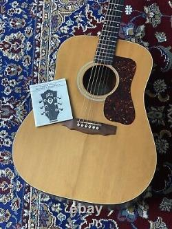 Guild D4-NT Natural 1990s Acoustic Guitar Made in USA