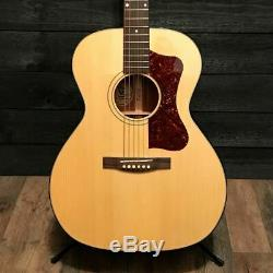 Guild F40 Valencia USA Made Grand Auditorium Acoustic Guitar Natural with Case