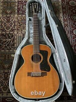 Guild F-212 1968 Vintage USA Made 12 String Acoustic Guitar with Hard Case