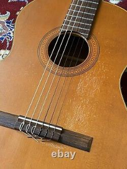 Guild Mark II 1969-72 Vintage USA Made Classical Acoustic Guitar Natural