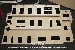 Guitar Effects Pedalboard 3-Tier Platform Stand Fit Fender Boss TC USA Made